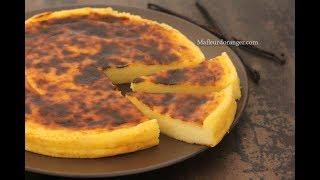 Flan  pâtissier sans pâte (recette de Christophe Michalak)