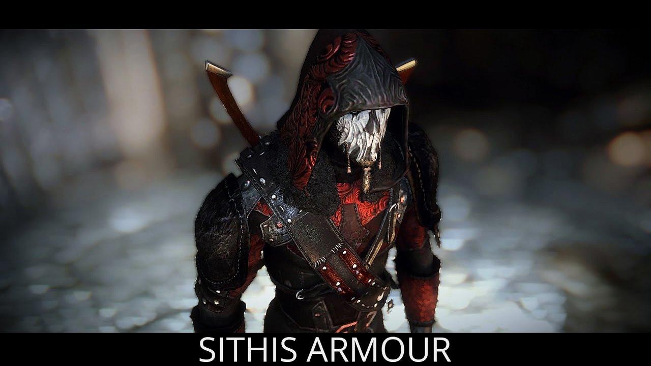 Skyrim Mods Bring Sithis, Manticore And Apachii Armor - One