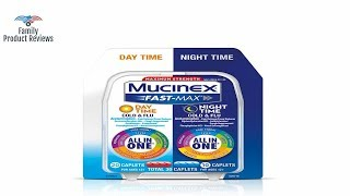 Cold Cough and Flu Maximum Strength  Mucinex Fast-Max Day/Night  30 caplets  Fast relief for co