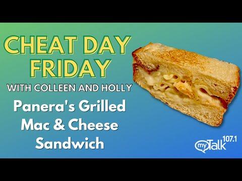 Cheat Day Friday: New Panera Grilled Mac & Cheese Sandwich!