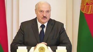 Лукашенко: Ваше нытьё я слушать больше не буду!