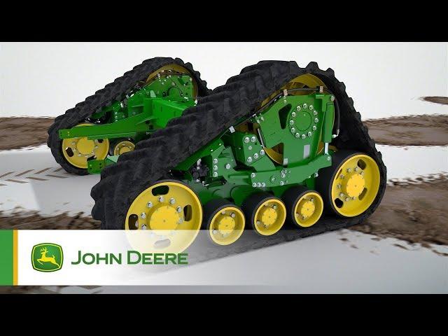 Trakcja z systemem kontroli | kombajny John Deere serii T