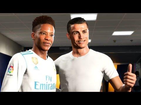 FIFA 18 - THE JOURNEY #2 - CRISTIANO RONALDO e REAL MADRID