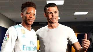 Fifa 18 - the journey #2 - cristiano ronaldo e real madrid (gameplay ps4/xone/pc)