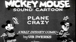 Plane Crazy (1928) Mickey Mouse