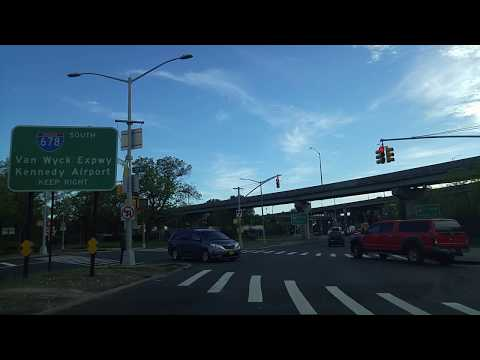 Driving from East Elmhurst to Fresh Meadows in Queens,New York