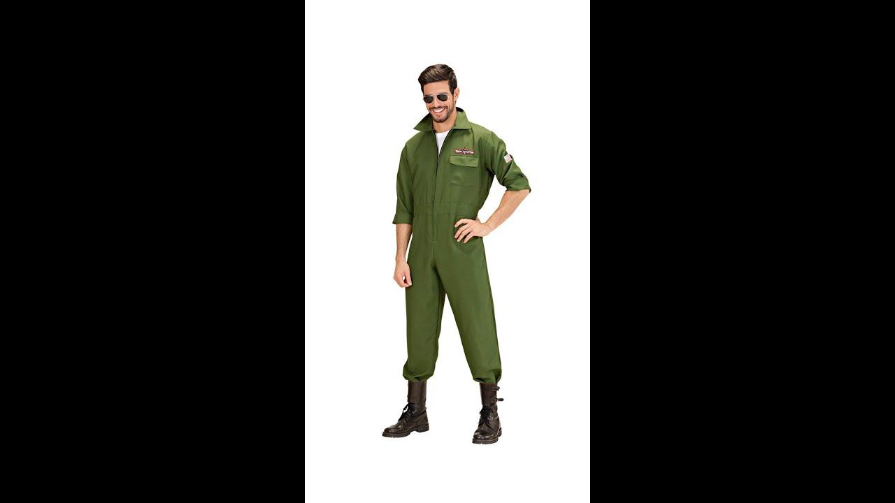 8902 -  FIGHTER JET PILOT  (jumpsuit)  sc 1 st  YouTube & 8902 -