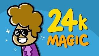 24K MAGIC (Bruno Mars) tradotta in ITALIANO con Google Translate