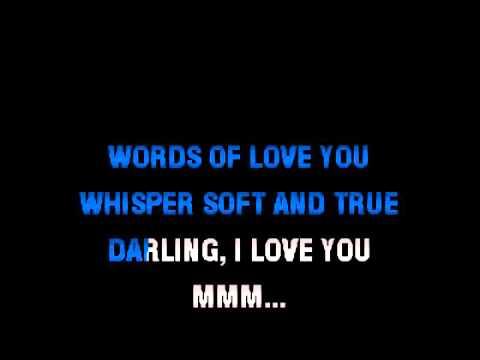 Words Of Love Karaoke