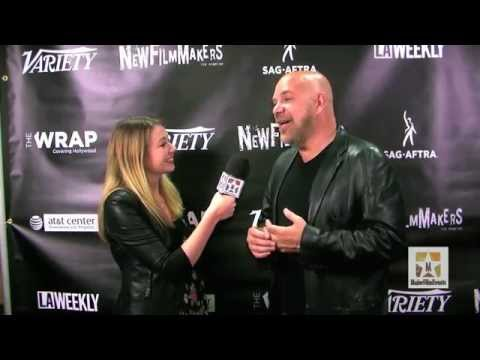 Jason Stuart shows up to support NewFilmMakersLA, and In Focus LGBT Program