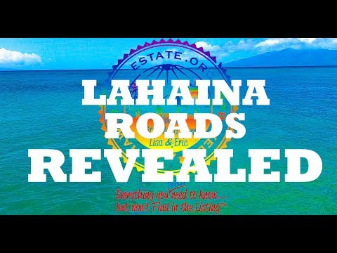 Front Street - Lahaina Roads Best Maui Condos