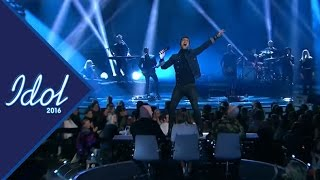 Måns Zelmerlöw - Glorious | Swedish Idol 2016 (TV4)