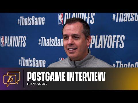 Lakers Postgame: Frank Vogel (5/27/21)