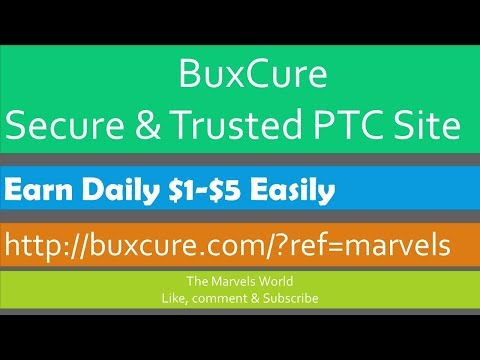 How To Earn Daily $1-$5 From Buxcure Step By Step Bangla Tutorial || Paid To Sign Up Offers