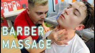 ASMR SLEEP THERAPY | ASMR MASSAGE BY TURKISH BARBER (asmr head massage, asmr ear massage..)
