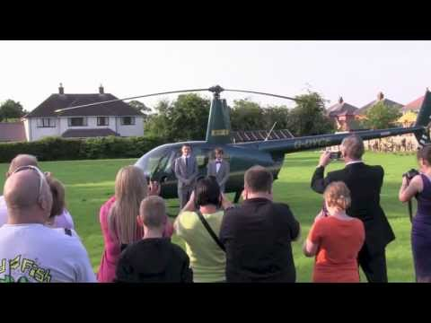 High School Prom Helicopter Arrival June 2013.