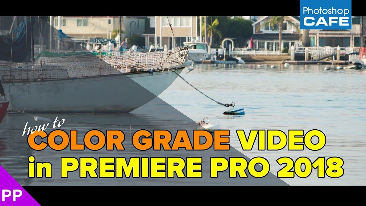 How to Color Grade video in Premiere Pro Lumetri, mini