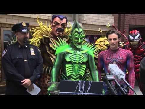 Spider-Man, Green Goblin Agree on Safety