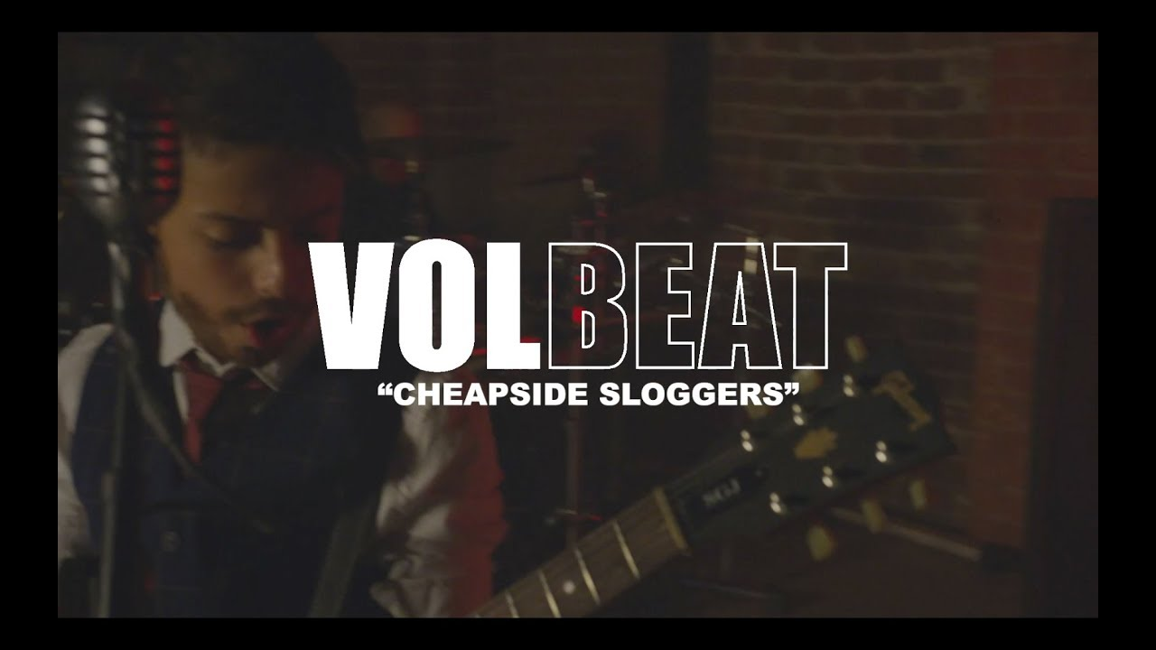 Go behind the scenes on Volbeat's Cheapside Sloggers video