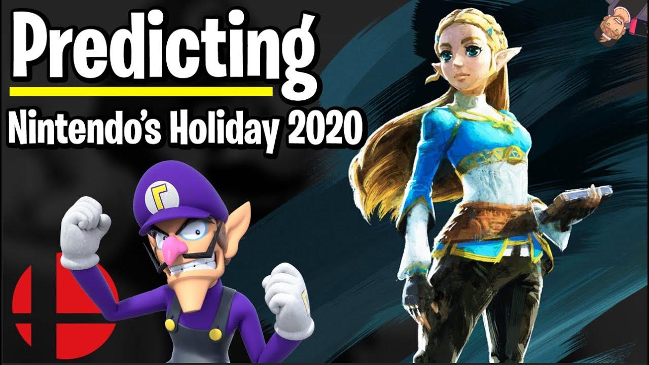 Nintendo Holiday 2020 - Zelda BOTW 2, Bayonetta 3, Mario? - Predictions!