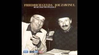 Friedrich Gulda and Joe Zawinul- Gulda: Variations for 2 Pianos and Jazz Band