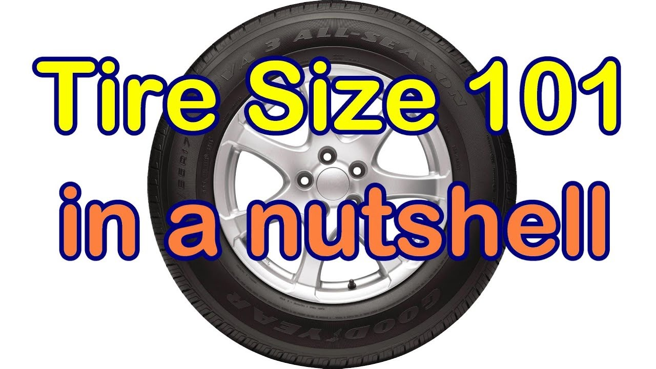 Tire Size Meaning >> What The Car Tire Size Numbers Mean