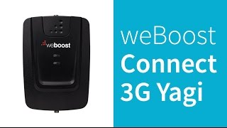 weBoost 472205 Connect 3G Yagi Cell Phone Signal Booster