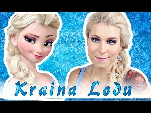 Elsa Z Krainy Lodu Makijaż I Włosy Halloween Agnieszka