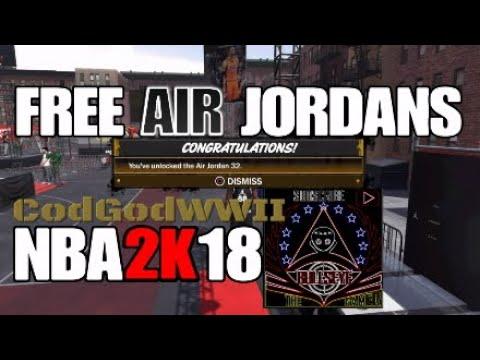 NBA 2K18 – FREE AIR JORDANS 10/07/2017