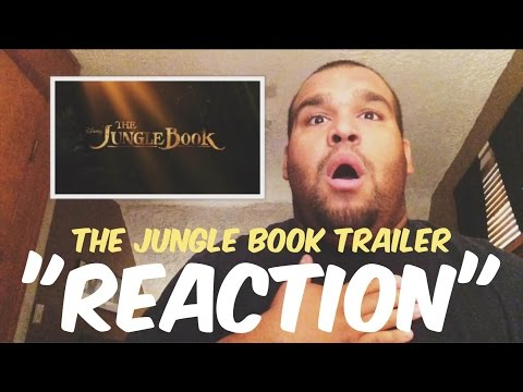 The Jungle Book Official Teaser Trailer (2016) REACTION