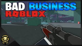 *NEW* FIRST PERSON SHOOTER in Roblox (Bad Business)