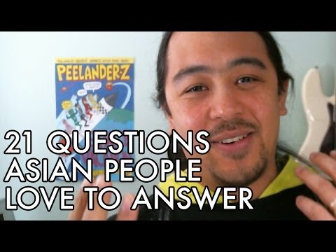 21 Questions Asian People Love to Answer