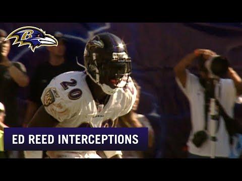 [Highlight] All 70 of Ed Reed's Ravens Interceptions
