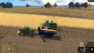 Farming Simulator 2015:  Windchaser John Deere Corn Harvest