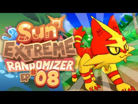 SUPER ELECTRIC TORRACAT!! - Pokemon Sun Extreme Randomizer (Episode 8)