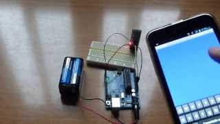Andruino - Bluetooth Android To Arduino Communication