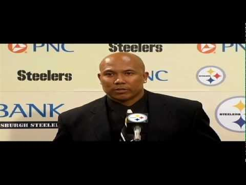 Hines Ward Announces Retirement Full Video