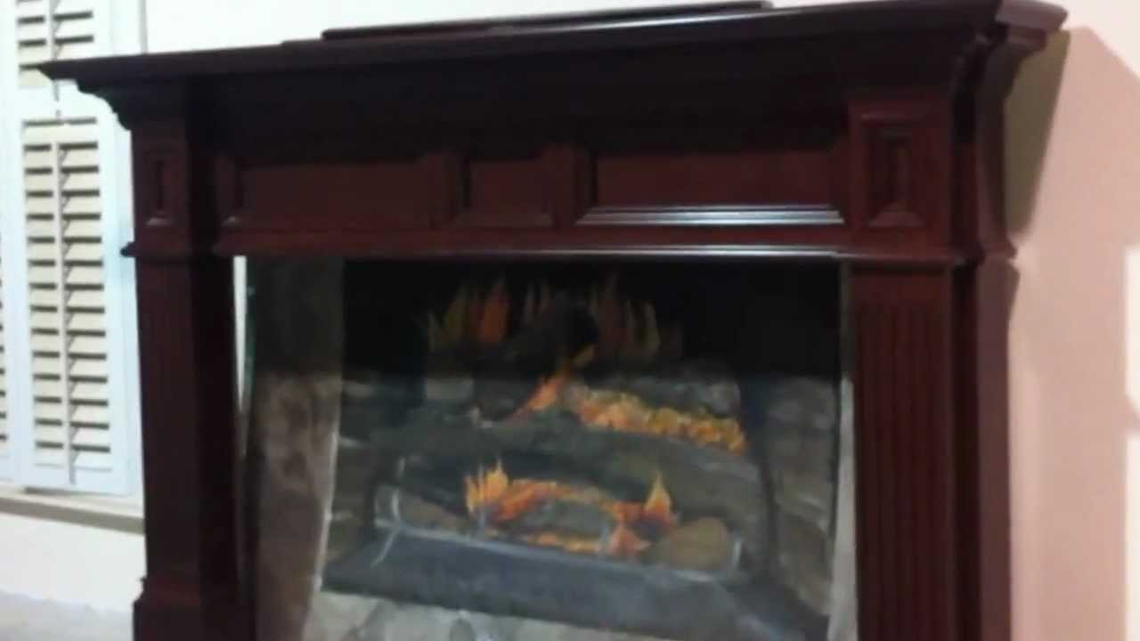 Tellico Fireplace Mantel In Cherry Stain 118  YouTube