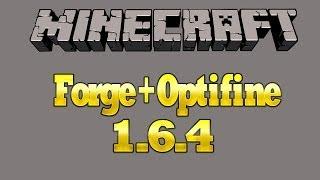 Como instalar forge+optifine en Minecraft 1.6.4 o Cualquier Versión sirve 100% launcher Team extreme