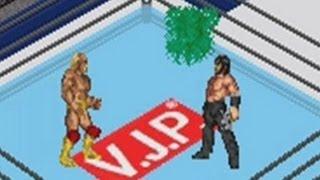 Fire Pro Wrestling 2 (GBA) - Hulk Hogan vs Great Muta