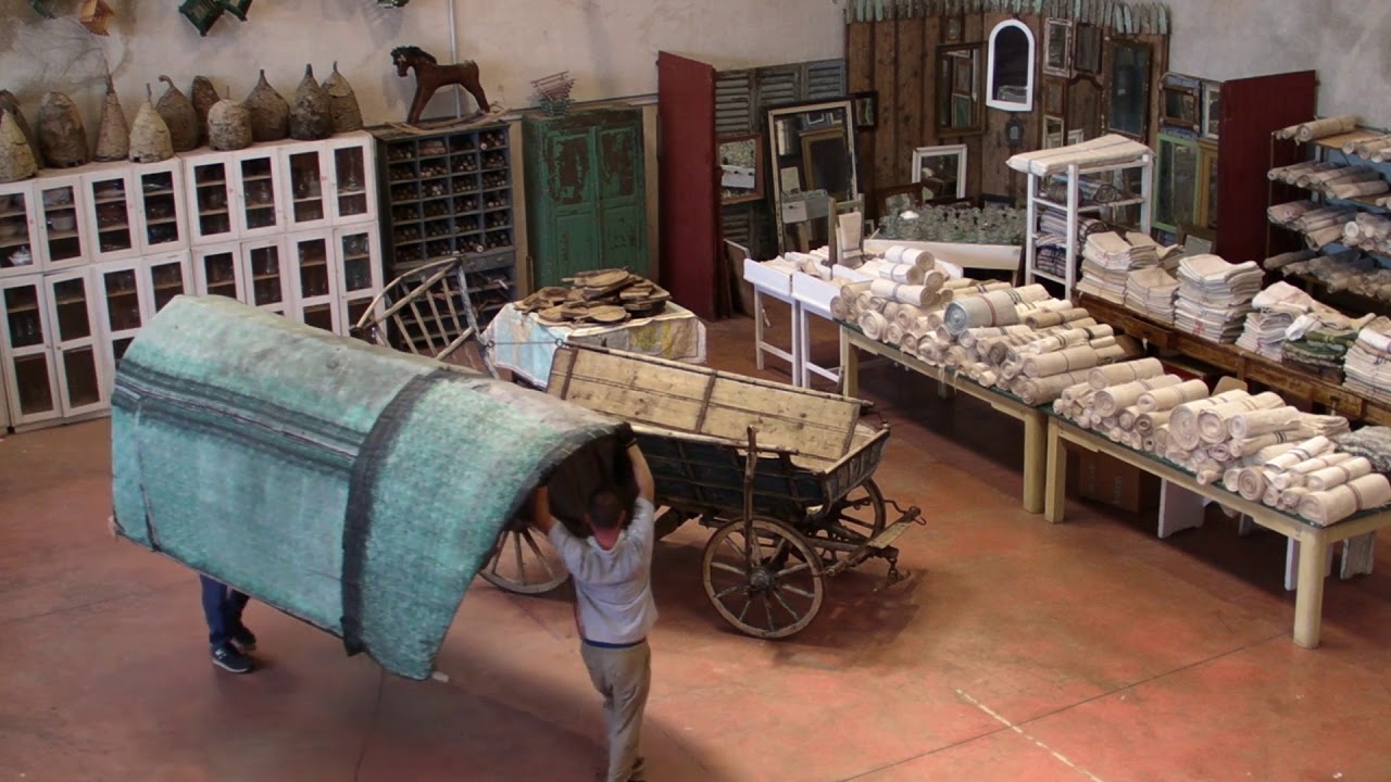 All Origine Imola assembling a mid-century wagon from central europe