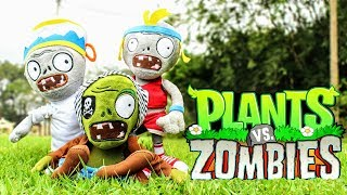Plants vs Zombies Plush Toys - PART 2 | MOO Toy Story