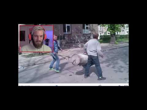 PEWDIEPIE СМОТРИТ РУССКИЕ ВИДЕО/PEWDIEPIE WATCHING RUSSIAN VIDEOS