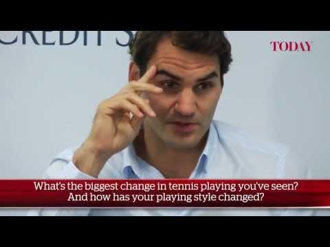 Roger Federer Visits Singapore