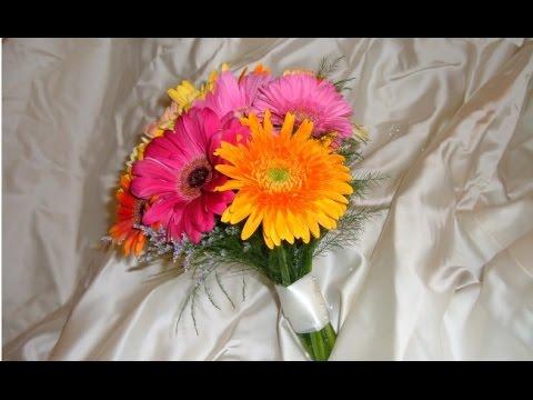 Wedding Bouquet Gerbera Daisy