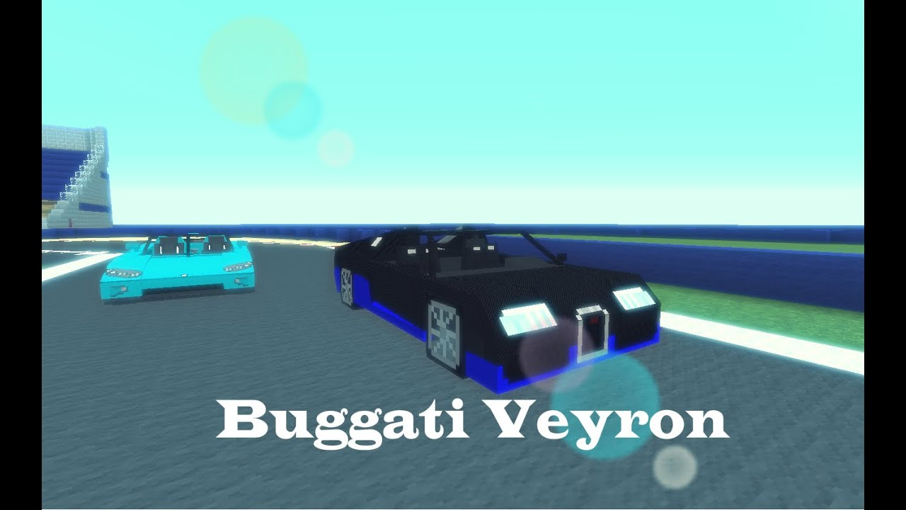 minecraft 1 driving a buggati veyron super sport from milox 117 car package youtube. Black Bedroom Furniture Sets. Home Design Ideas