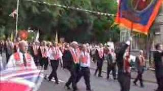 Loyalist Parade - Shankill Protestant Boys Whiterock 2007