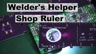 WELDER'S RULER
