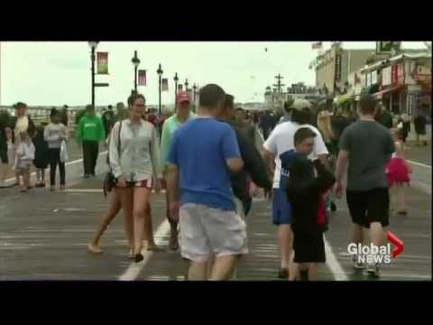 Tropical storm Arthur leaves thousands of Canadians without power