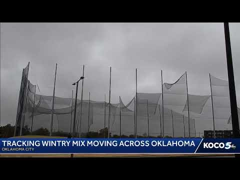 Wintry Weather In Oklahoma